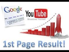 Youtube Video Ranking: How To Rank On The First Page of Youtube