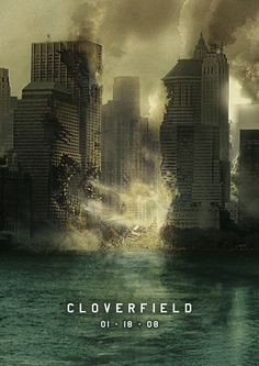 I remember when I first saw the trailer to this movie, I was so captivated and psyched. I still have yet to find a movie that tops cloverfield's apocalyptic, mock-documentary style.