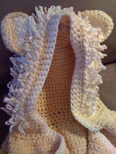 Hooded Lion Towel: free pattern