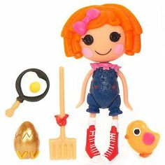 Lalaloopsy 3 Inch Mini Figure with Accessories Sunny Side Up by MGA Entertainment. $14.95. Mini Lalaloopsy doll play sets. This is Sunny Side Up, a new release.