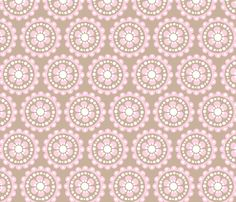 elephant_baby_girl_14 fabric by juneblossom on Spoonflower - custom fabric