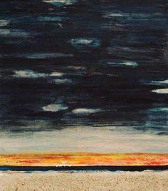 """Saatchi Art Artist marleen becks; Painting, """"High skiesSand"""" #art"""