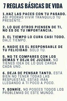 Reglas básicas.
