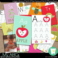 perfect to print for the kids to work on writing and identifying their letters...