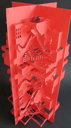 Pop-Up Paper Craft Weds Japanese Tradition And Modern Architecture