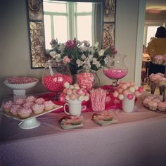 Candy station!