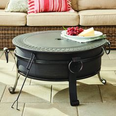 Fire Pit With Lid, Copper Fire Pit, Fire Pit Sets, Steel Fire Pit, Round Fire Pit Table, Fire Pit Coffee Table, Round Fire Pit Cover, Garden Fire Pit, Fire Pit Backyard