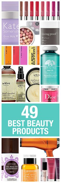 Check out some of Skinny Mom's hottest beauty products.