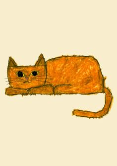 Copyright (C) Yusuke Yonezu All Rights Reserved. I Love Cats, Crazy Cats, Illustrations, Illustration Art, Animals And Pets, Cute Animals, Les Rats, Gatos Cats, Photo Chat