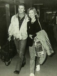 Ricky Nelson and Helen Blair