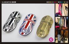 Head Tube Badge for Brompton (Flower Studio)