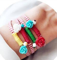 March, Beaded Bracelets, Jewelry, Jewlery, Jewerly, Pearl Bracelets, Schmuck, Jewels, Jewelery