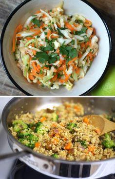 cabbage quinoa