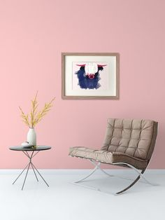 Geometric, Modern, Yak animal wall art print. Impress your guests or favorite animal lover with your Yak Life.