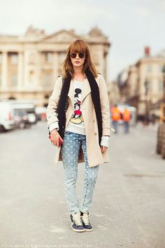 mickey mouse fashion street