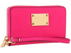 MICHAEL Michael Kors Saffiano Multifunction Case for iPhone® 5 Neon Pink