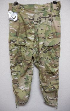 MULTICAM GEN III ECWCS, LEVEL 5 TROUSER, SOFT SHELL, COLD WEATHER, L/R *NWT*