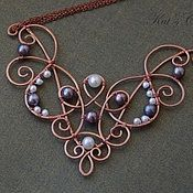 Handmade Jewelry. Fair Masters - handmade necklace with freshwater pearls. Handmade.