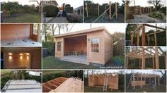 Tuinhuis - volledig op maat gemaakt - by JohnnyBlue.nl Shed, Outdoor Structures, Barns, Sheds