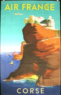 15 Charming Vintage Airline Posters   AbeBooks' Reading Copy