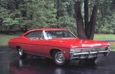 1968 Chevy Impala - Dad bought it off of Richard Cook. It was charcoal and he bought it when we were going together because he didn't want to continue dating in the old 1965 chevy pickup.