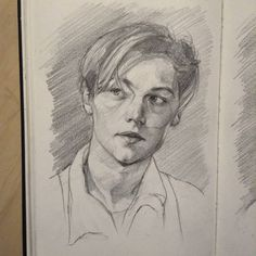 Titanic Leo is the best Titanic Drawing, Titanic Art, Titanic Movie, Art Journal Inspiration, Art Inspo, Art Sketches, Art Drawings, Fine Art Drawing, Celebrity Drawings