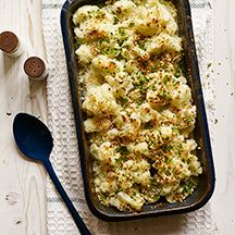 Cheesy Cauliflower Gratin with Crispy Panko Topping - 3 pts+