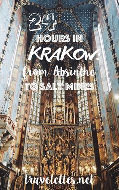 Travelettes » » 24 hours in Krakow: From Absinthe to Salt Mines