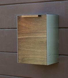 modern wall mount mailbox. Stainless Steel Modern, Contemporary Wall Mount Mailbox | Blomus Mailboxes Pinterest Mailbox, Modern And