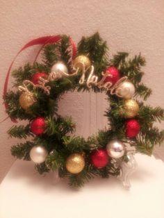 Mini corona natalizia