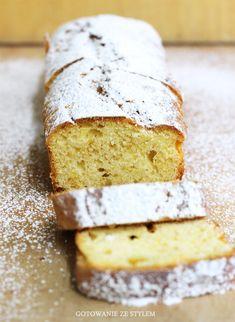 Lemon cake   gotowanie ze stylem