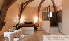 Chambres d'hôtes et gite La Jasoupe à Beaune - Meubles Interior's collection Romance