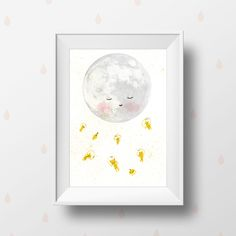 Wall Art Art Poster  Children Wall Art Print  Moon space astronaut Astronauts Art   Outer Space  Art  Cute Astronauts Alien Spaceship Rocket by holli on Etsy https://www.etsy.com/listing/198112677/wall-art-art-poster-children-wall-art