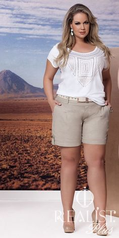 67 plus size summer outfits with shorts  plussize  outfit 339b2ecf0a84