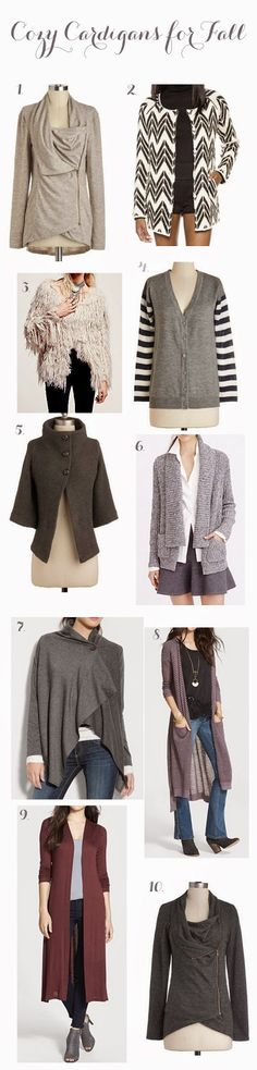 Some of the cutest cardigans for fall