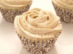 Cupcakes de arroz con leche y buttercream de canela - MisThermorecetas.com