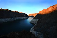 Lake Mead, Nevada... swam in there...