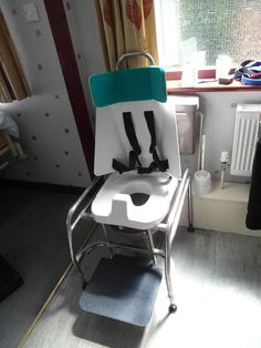 Custom toileting frame