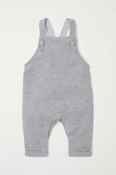 Bib Overalls   Light gray   KIDS   H&M US