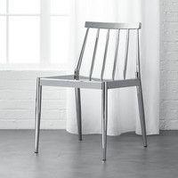 CB2 - August Catalog 2016 - Hemstad Chrome Chair