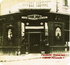 """Magazinul Mare de Consum """"Moldova"""", Iasi, Romania Moldova, Past, Places To Visit, Fire, Building, Pictures, Buildings, Places Worth Visiting, Paintings"""
