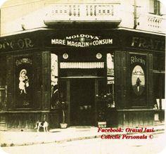 "Magazinul Mare de Consum ""Moldova"", Iasi, Romania Moldova, Past, Places To Visit, Fire, Building, Pictures, Photos, Past Tense, Buildings"