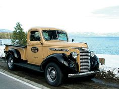 Read about this 1940 GMC Pickup with a 327 Chevy Engine and more inside Classic Trucks Magazine. Gmc Trucks, Chevrolet Trucks, Cool Trucks, Chevy 4x4, Farm Trucks, 1957 Chevrolet, Diesel Trucks, Chevrolet Impala, Lifted Trucks