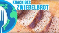 Zwiebel-Vollkornbrot - Rezept von Um Die Welt Kochen Banana Bread, Foodblogger, Desserts, Link, Bread Baking, Cooking, Meal, World, Tailgate Desserts