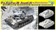 Pz.Kpfw.III Ausf.N w/Winterketten s.Pz.Abt.502 – DRAGON 6606