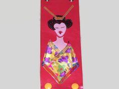 A personal favorite from my Etsy shop https://www.etsy.com/listing/178116130/geisha-cuff-leather-braceletkawaii-wrap