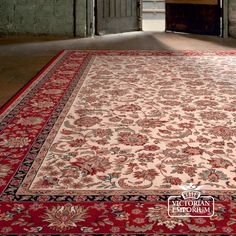 Lovely Victorian style rug
