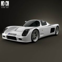 Ultima GTR 2009 3d model from humster3d.com. Price: $75