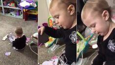 Brooke Heiler Kingsley discovered her daughter singing Jolene by Dolly Parton.