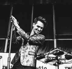 Brendon Urie at the Radio 104.5 Summer block party in Sept 2015